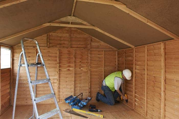 building shed from stoerage shed plans